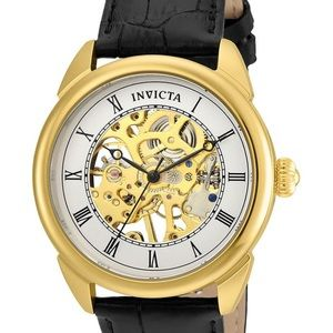 Invicta specialty men's mechanical 42 mm gold case